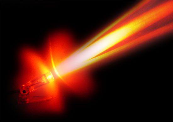 Raio laser.