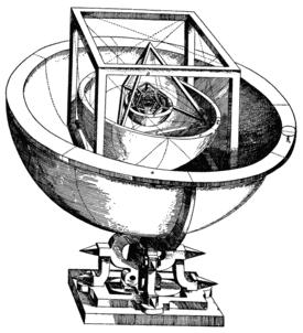 A cosmologia de Kepler.