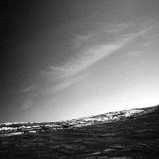 Figura 3 - Nuvens em Marte