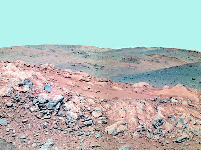 Figura 1 - Paisagem marciana