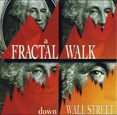 A Multifractal Walk down Wall Street. Capa da Scientific American de fevereiro de 1999.